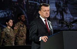 Błaszczak: więcej wojsk USA w Polsce to bezpieczniejsza flanka wschodnia