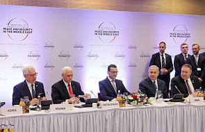 Media o istotnym znaczeniu konferencji warszawskiej dla stabilizacji Bliskiego Wschodu