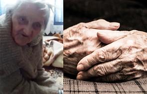 Ma 93 lata, jest niewidoma i recytuje piękne wiersze. Posłuchaj jednego z nich. Łza kręci się w oku