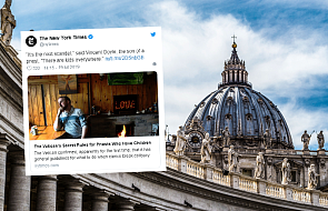 Syn duchownego na spotkaniu w Watykanie: interes dziecka powinien być najważniejszy