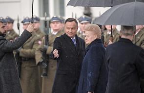 Prezydenci Polski i Litwy podpisali deklarację o wzmocnieniu partnerstwa w dziedzinie bezpieczeństwa