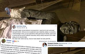 Po przewróceniu pomnika ks. Jankowskiego internet nie ustaje w komentarzach. Co napisali ludzie związani z Kościołem?