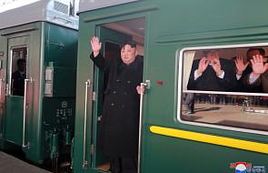 Pociąg wiozący Kim Dzong Una na spotkanie z Trumpem wjechał na teren Chin