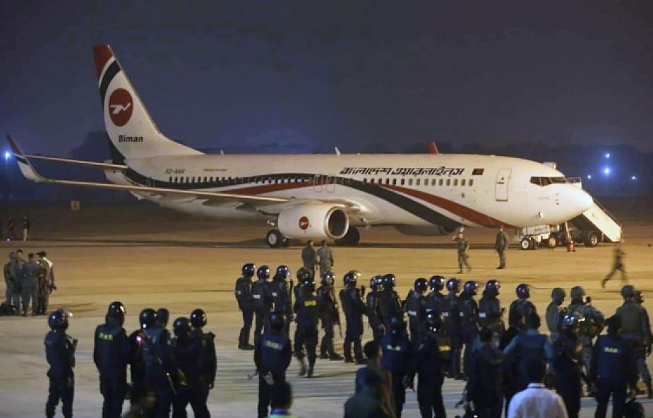 Bangladesz: próba zawładnięcia samolotem, sprawca zastrzelony