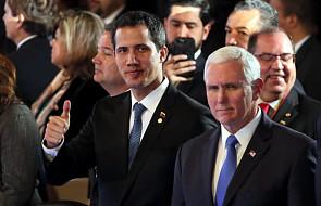 Kolumbia: Pence zapewnia Guaido o pełnym poparciu Trumpa