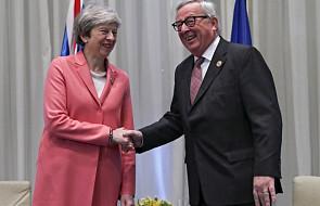 Juncker rozmawiał z May o brexicie podczas szczytu w Egipcie