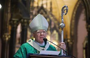 Abp Jędraszewski: kiedy papież usłyszał słowa tej kobiety, nieoczekiwanie poprosił o głos