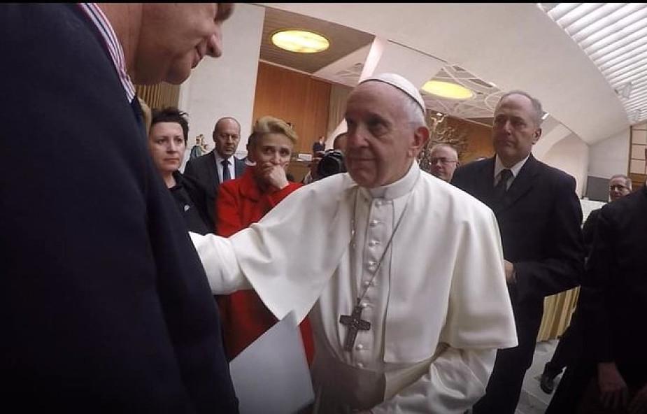 Lisiński o spotkaniu z papieżem Franciszkiem: tego widoku nie zapomnę do końca życia
