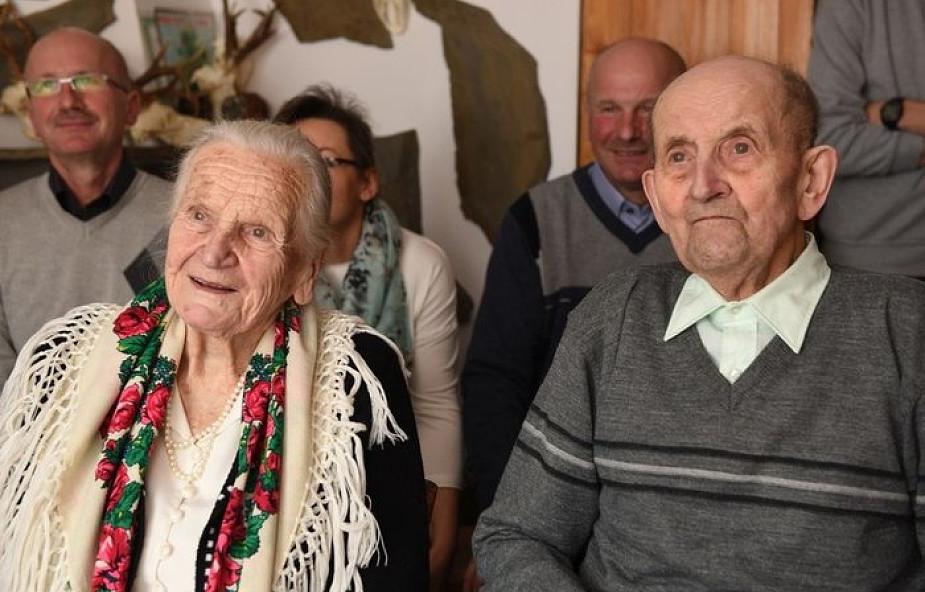 """Mają za sobą 73 lata małżeństwa. """"Zawsze staraliśmy się żyć z Panem Bogiem"""""""