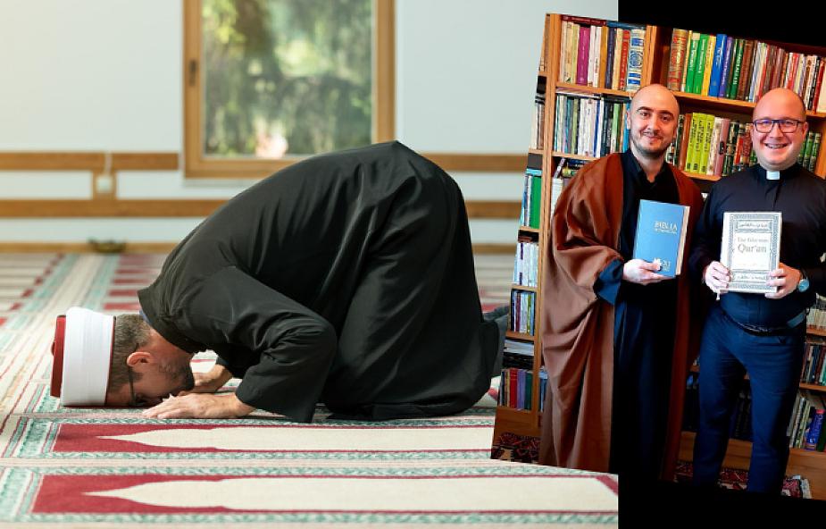 Spotkanie katolickiego księdza z imamem. Nie wszyscy spodziewali siętakiego zakończenia