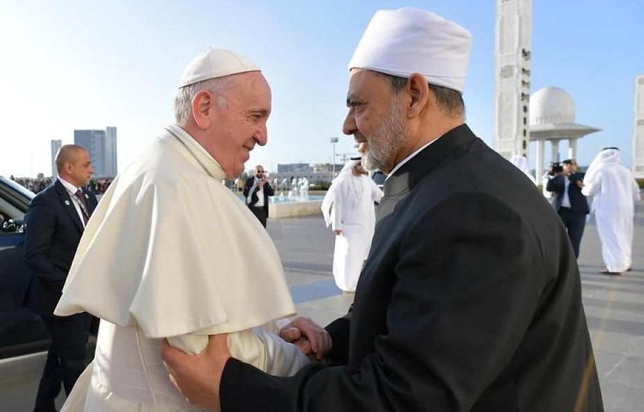 """Papież: wizyta w Zjednoczonych Emiratach Arabskich to niespodzianka Boga. """"Często myślałem o świętym Franciszku"""""""