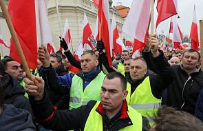 Warszawa: koniec protestu rolników pod Pałacem Prezydenckim