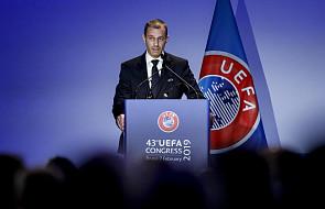 Kongres UEFA - Ceferin wybrany na prezydenta na kolejną kadencję