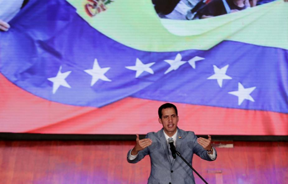Prezydent Guaido: interwencja USA w Wenezueli to skrajna możliwość