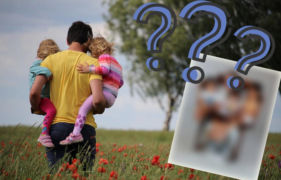 Jak zmieścić trójkę dzieci i tatę w jednym fotelu? Trzeba mistrzowskich umiejętności