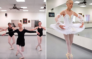 """Zaczęła tańczyć 70 lat temu. """"Balet jest moim życiem"""""""