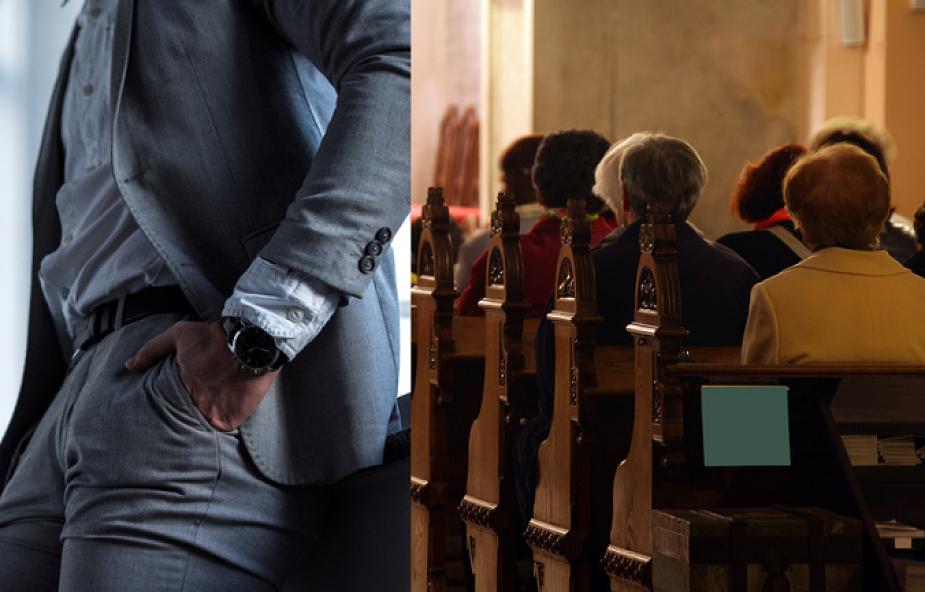 """""""Trzymacie szatana w kieszeni"""". Arcybiskup ostrzegł wiernych w czasie Mszy świętej"""