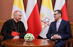 Kard. Parolin spotkał się z premierem Morawieckim