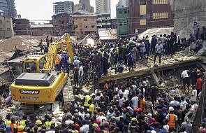 Nigeria: trwa akcja ratunkowa na miejscu zawalonego budynku