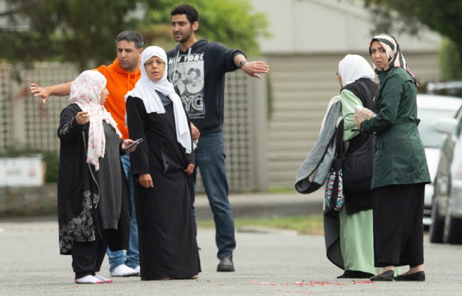 Nowozelandzka policja aresztowała 4 osoby w związku z atakami na meczety