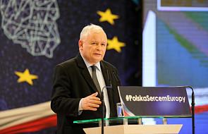 Kaczyński: nasz plan to uzyskanie w sercu Europy europejskiego poziomu życia dla Polaków