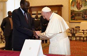 Papież pragnie udać się do Sudanu Południowego. Przyjął na audiencji prezydenta tego kraju