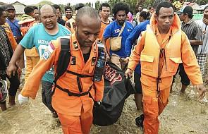 Indonezja: tragiczne skutki powodzi. Do 50 wzrósł bilans ofiar śmiertelnych