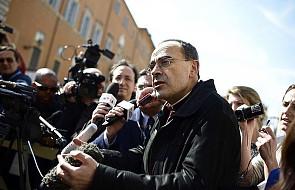 Skazany kardynał tłumaczy, co stało za zaskakującą decyzją papieża Franciszka