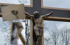 """Ktoś zdewastował krzyż w Katowicach. """"Urażone zostały uczucia wielu ludzi"""""""