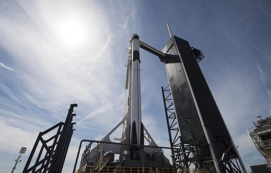 USA: SpaceX wysłała załogową wersję kapsuły na stację kosmiczną
