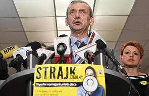 Broniarz: to, czy dojdzie do strajku, zależy wyłącznie od minister Zalewskiej