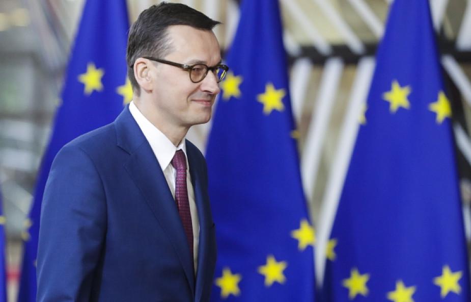 UE / Morawiecki: chodzi nam o to, by nie doszło do bezumownego brexitu