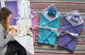 Wolontariusze z całej Polski szyją miniaturowe ubranka. Pomagają rodzicom pochować ich przedwcześnie narodzone dzieci