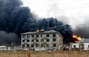 Chiny: już 64 ofiary śmiertelne wybuchu w zakładach chemicznych
