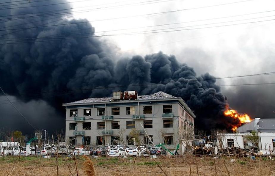 Chiny: bilans ofiar śmiertelnych wybuchu w zakładach chemicznych wzrósł do 78. 566 osób wciąż przebywa w szpitalach