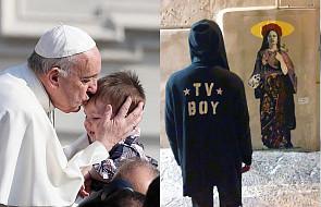 Znany grafficiarz stworzył antypedofilski mural, którym apeluje do Kościoła. Jest na nim papież trzymający małego chłopca