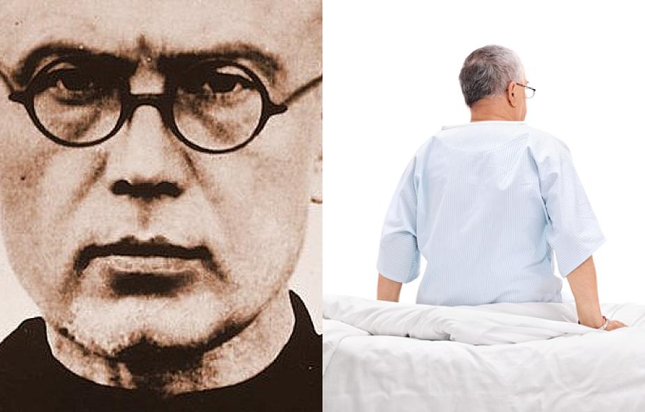 Św. Maksymilian Kolbe uratował mojego męża