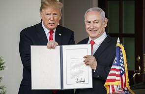Arabia Saudyjska potępia decyzję USA w sprawie Wzgórz Golan
