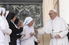 Papież wyraził uznanie dla włoskiej zakonnicy - misjonarki w Afryce