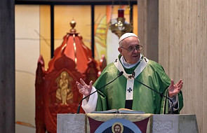 Franciszek: módlmy się za tych, których mamy ochotę obmówić