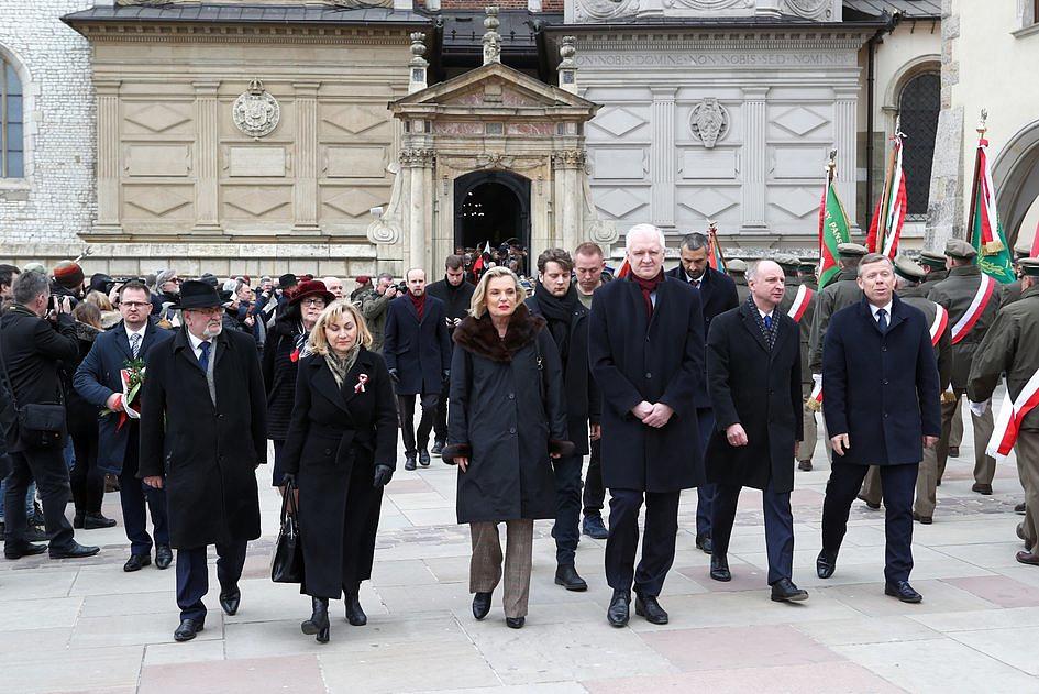 W Krakowie Marsz ku czci Żołnierzy Wyklętych - zdjęcie w treści artykułu