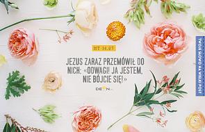 Mt 14,27 to moje Słowo na Wielki Post! Otrzymaj Słowo dla siebie!