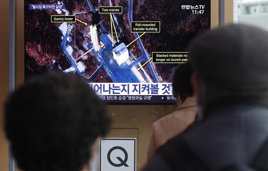"""Korea Płn: wykryto zwiększony ruch pojazdów w ośrodku rakietowym. Pojazdy miały dostarczać """"jakieś zapasy"""""""