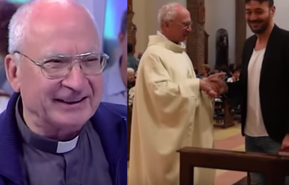 """Ma 71 lat, syna i trójkę wnuków. Jest szczęśliwym księdzem. """"Żona zawsze zachęcała mnie do przyjęcia święceń"""""""