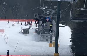 Groźna sytuacja na stoku narciarskim. Ale taka postawa ludzi budzi wielki szacunek