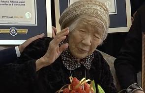 116-letnia Japonka najstarszą osobą na świecie. Zapytano ją, co było najszczęśliwszą chwilą w jej życiu