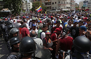 Wenezuela: w Caracas starcia protestujących z siłami bezpieczeństwa. Ulice są pilnie strzeżone