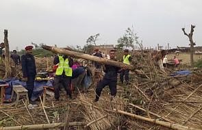 """MSW Nepalu: 27 zabitych, ponad 600 rannych w wyniku burzy na południu. """"Burza zniszczyła wszystko, co było na drodze"""""""
