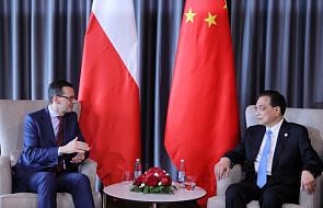 Premier Mateusz Morawiecki spotkał się z szefem chińskiego rządu w Chorwacji