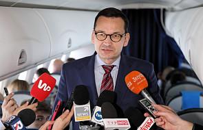 Morawiecki: premier Chin obiecał działania na rzecz zrównoważonego handlu